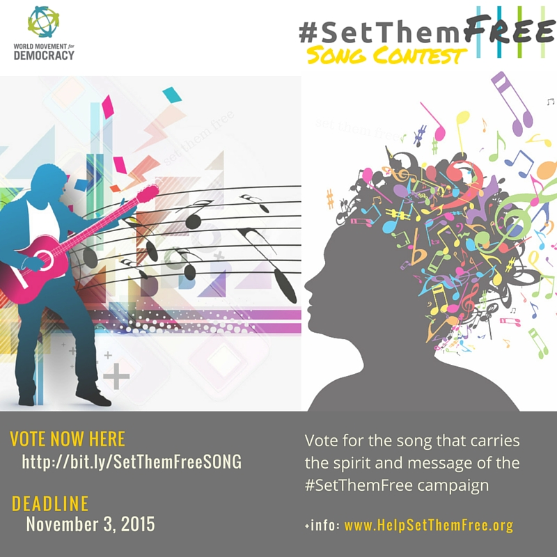 #SetThemFree song contest voting (1)