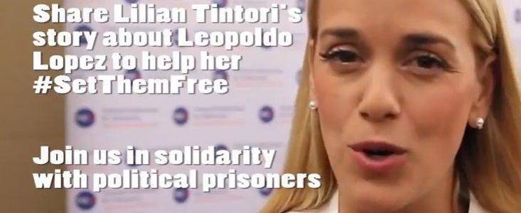 Meet Venezuelan activist Lilian Tintori