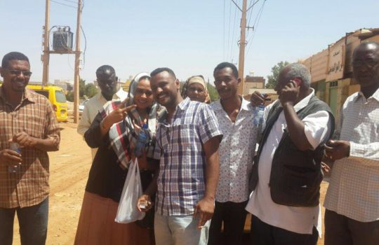 Sudanese TRACKs activists freed!