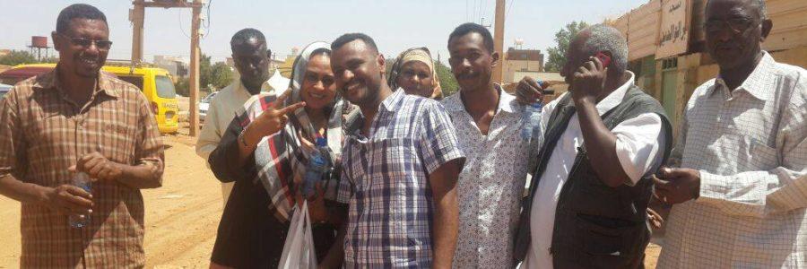 Sudanese TRACKs activists freed!