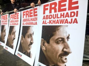Front Line Defenders protests calls on government of Bahrain to free political prisoner Abdulhadi Al-Khawaja.